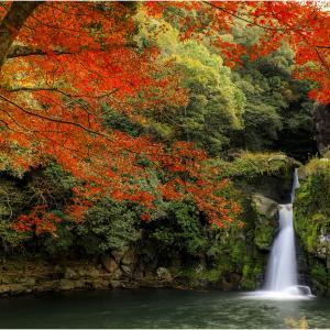 ~観音滝公園の紅葉~