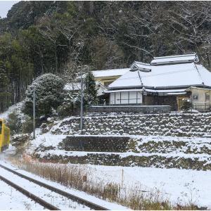 ~雪の久大本線~