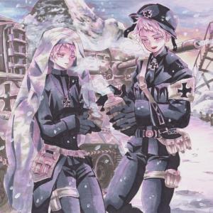 ドイツ戦車描いたよ【手書きコピックイラスト】