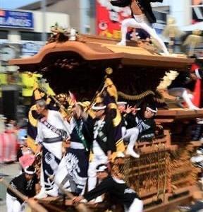 岸和田祭り・・・観覧ご遠慮。