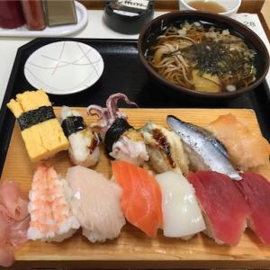 勢登鮨のすし定食