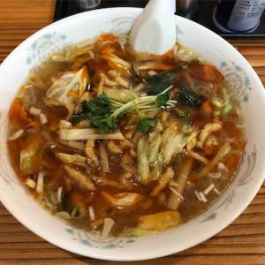 香林の酸辣湯麺