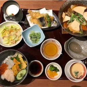 兆蘭のミニ漁火丼セット