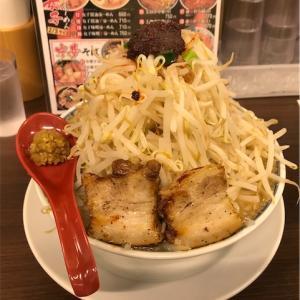 味噌辛豪ーめん(中)+野菜増し