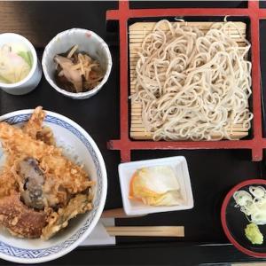 美乃庵のえび天丼セット