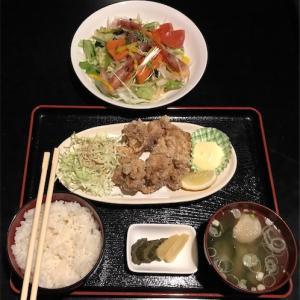 菜々&禄の鶏唐揚定食
