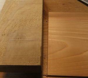 木工 のこぎりで 仕舞良ければ の 段