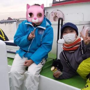 ショートアジ船・弁天屋 2020年1月24日