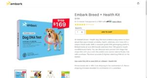 愛犬の遺伝子検査キットを注文してみた【Embark Dog DNA Test】