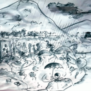 アーカイブ  第283 ◎ 毎年、梅雨があけると、新穂高温泉に行きます。