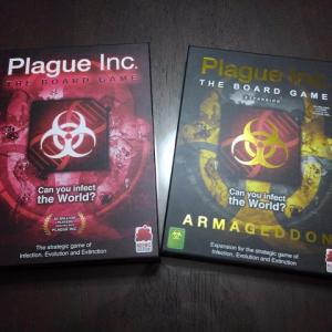 Plague Inc. The Board Game/伝染病株式会社ボードゲーム ファーストインプレッション