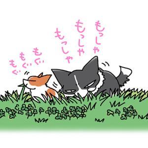 草食動物なんですが・4月28日のピピちく/【犬マンガ】