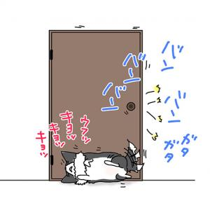 うるさい寝・6月2日のピピぞう/【犬マンガ】