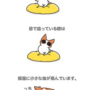 虫レーダー犬・10月14日のちくわ/【犬マンガ】