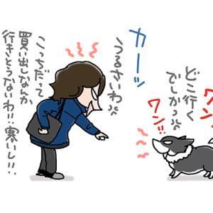 犬と口ゲンカ・1月15日の飼い主/【犬マンガ】