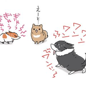 とにかく黙れ!・3月3日のピピちく/【犬マンガ】