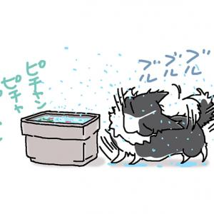 妖怪アメフラシ・5月21日のピピぞう/【犬マンガ】
