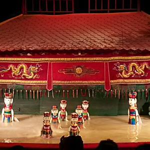 ベトナム③ 水上人形劇とディナークルーズ