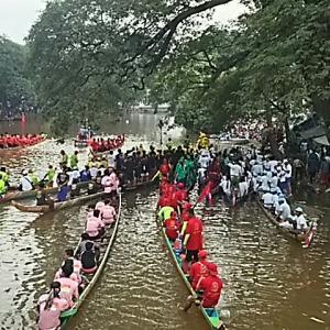 カンボジア・タイ⑩ 水祭りと轟音花火