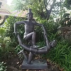カンボジア・タイ⑮ ワット・ポーのマッサージ像コレクション
