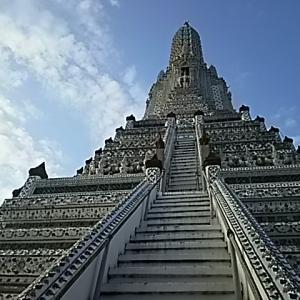 カンボジア・タイ⑯ ワット・アルンと旅行費用