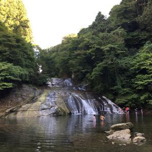 【千葉県大多喜町】養老渓谷 房総一を誇る名瀑布 粟又の滝を鑑賞する