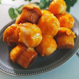 バターなしでもふわふわ。ミニサイズのチーズマフィンレシピ