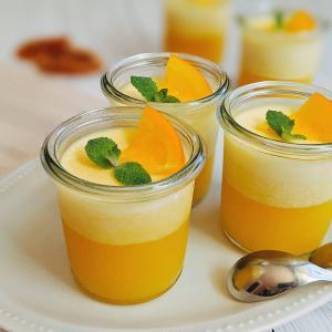 勝手に2層のゼリーに!不思議なオレンジゼリーのレシピ
