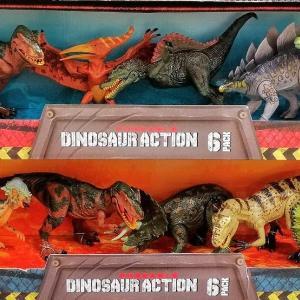 コストコで恐竜フィギュア6体セットが復活!売り切れ前にお得にゲットしよう