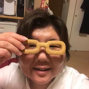 新しいメガネ?!