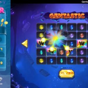 ベラジョンのスロット ジャックポットゲーム Gemtastic