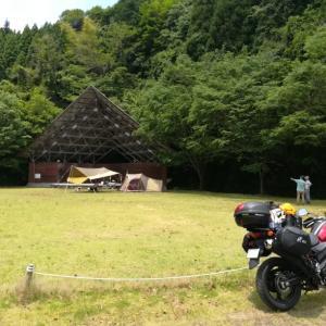 県内でキャンプツーリング(後編)