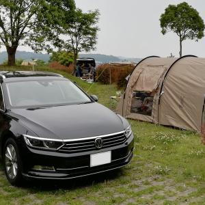 梅雨入り直前のキャンプ(糸ヶ浜海浜公園キャンプ場)