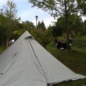 山陰へ、2泊3日のキャンプツーリング②