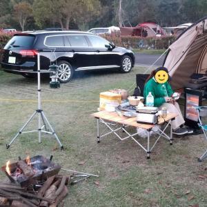 夫婦キャンプ