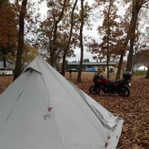 また雨のキャンプ。。【後編】