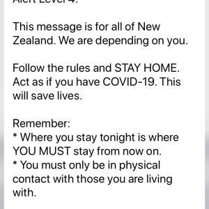 ニュージーランド ロックダウンAlert!