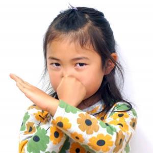 子供に臭いと指摘される緊急事態