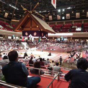 大相撲観戦