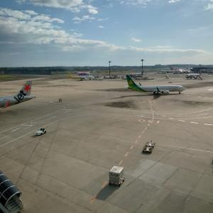 LCCジェットスターで成田から阿蘇くまもと空港、阿蘇へ