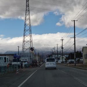 冬の福島:それにしても暖冬です。