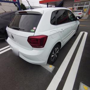 VWポロにドライブレコーダーを取り付けました。