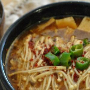 やっぱり朝鮮料理が好き 【vol.1 納豆と豆腐のチゲ】