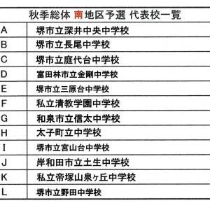 令和元年度 大阪中学校秋季サッカー大会 (その20)