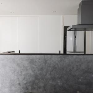 Kitchen 背面収納.