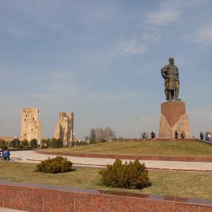 【シャフリサーブス】予定になかったけどウズベキスタンの世界遺産の街シャフリサーブスに急遽行くことになったときのお話
