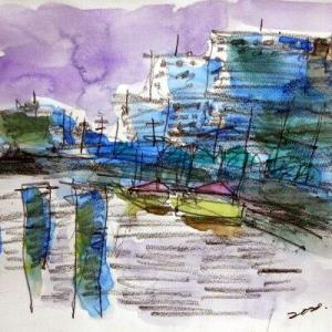 浦安橋からの夕景