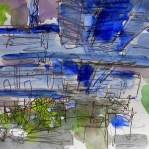 弁天の京葉線高架