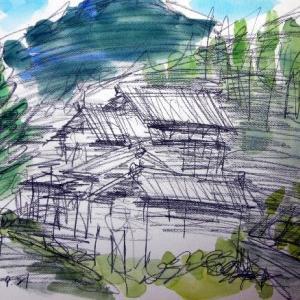 越後村上の里山