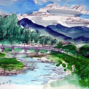 角館の桧木内川